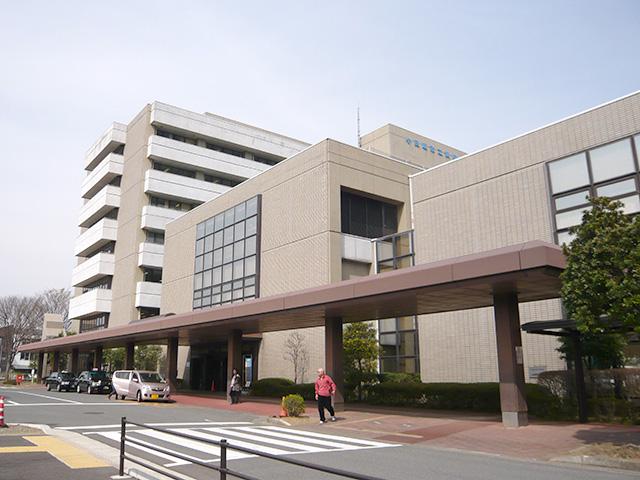 小田原市立病院近く